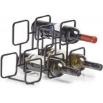 Zeller Weinregal für 5 Flaschen (Metall) um 9,42 € statt 19,69 €