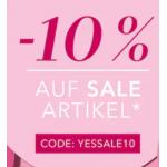 Douglas – 10% Extra-Rabatt auf Sale Produkte (bis 18.09.)