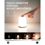 AUKEY LED Nachttischlampe (RGB Licht) um 18,19 € statt 25,99 €