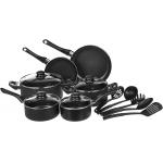AmazonBasics – 15-teiliges Kochgeschirr-Set um 39,86 € statt 54,83 €
