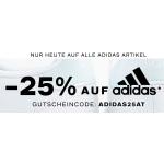 Deichmann – 25% Rabatt auf reguläre adidas Produkte & gratis Versand