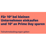 Amazon Prime – für 10 € bei kleinen/mittleren Unternehmen kaufen & 10 € Amazon Gutschein erhalten (bis 20. Juni 2021)