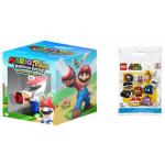 Mario + Rabbids: Kingdom Battle – Collector's Edition (Switch) + LEGO Super Mario – Mario-Charaktere-Serie (71361) um 34,99 € statt 45,72 €