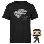 Winter Is Coming T-Shirt + Jon Snow Pop Vinyl inkl. Versand um 16,99 €