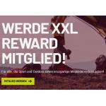 XXL Sports & Outdoor – XXL Reward Mitgliedschaft mit vielen Vorteilen