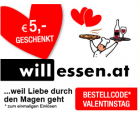 5€ Gutschein @ willessen.at