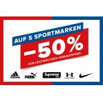 Hervis – 50% Rabatt auf ALLE Produkte (vom letztgültigen Verkaufspreis) von Nike, Adidas, Puma, Under Armour & Supreme Grip – bis 11. Oktober