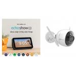 Echo Show 5 + Ezviz C3X Überwachungskamera um 161 € statt 230 €