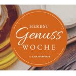 Herbstgenusswoche 2020 vom 02. – 08.11. – z.B. 2-3 Gänge Menüs in Top-Restaurants ab 14,50 € bzw. 29,50 € – EXKLUSIV vorreservieren!