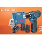 Bosch Professional GSR 12V-15 Akku-Bohrschrauber Set um 99 €