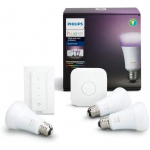 Philips Hue White und Color Ambiance E27 LED Starter Set um 105,50 €