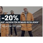 XXL Sports – 20% Rabatt auf alle Jacken (inkl. Sale) für Reward Member
