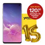 Samsung Galaxy S10 Smartphone um 399 € statt 502,76 €