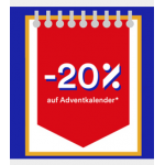 20% Rabatt auf 948 Adventkalender bei Thalia.at – bis 7.11.