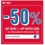 Domino's Pizza – 50% Rabatt auf die 1. App-Bestellung & -25% danach