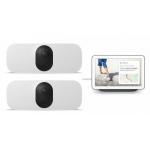 Arlo Pro 3 Floodlight Cam WIRELESS 2er-Set + gratis Google Nest Hub inkl. Versand um 499 € statt 655,18 €