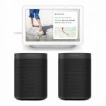 Sonos One Stereo Set + Google Nest Hub um 389 € statt 549,88 €