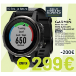 Garmin Fenix 5S Saphir GPS-Multisportuhr um 299 € statt 407,83 €