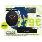 Polar Vantage V mit H10 Herzfrequenz-Sensor um 279 € statt 359,59 €