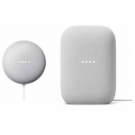 Google Nest Audio + Google Nest Mini um 99 € statt 150,80 €