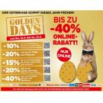 Interspar Golden Days – zB.: 20% Rabatt auf LEGO, uvm …