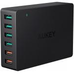 AUKEY Quick Charge 3.0 Multi-Port USB Ladegerät um 22 € statt 33 €