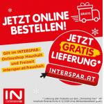 Interspar Onlineshop – gratis Versand (bis zu 49,90 € sparen)