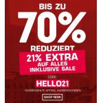 SNIPES – 21% Rabatt auf euren Einkauf (inkl. Sale) + gratis Versand