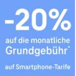 Magenta – 20% Rabatt auf alle Tarife (Handy & Internet)