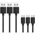 AUKEY Micro USB Kabel (3 x 1,2m) um 5,24 € statt 6,99 €