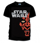 Star Wars Men's Darth Maul Face T-Shirt um 10,49€ @ Play.com