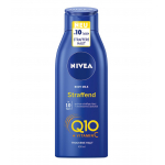 4x NIVEA Q10 Hautstraffende Body Milk + Vitamin C, 400ml um 6,25 €