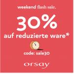 Orsay – 20% Extra-Rabatt auf bereits reduzierte Produkte