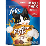 4x FELIX KnabberMix, 200g um 6,45 € statt 10,36 €