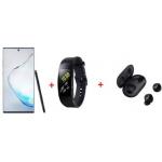Samsung Galaxy Note 10+ Duos N975F/DS 512GB + Samsung Gear Fit 2 Pro + Samsung Galaxy Buds um 997 € statt 1.285,95 €