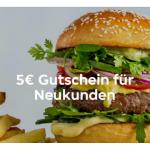 Lieferando Gutschein – 5 €Rabatt für Neukunden bis 31.1.