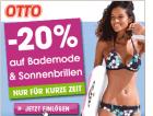 ab morgen: -20% auf Bademode und Sonnenbrillen @Ottoversand.at