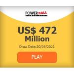 US Powerball – 472$ Millionen Jackpot – Tipps mit 40% Rabatt!