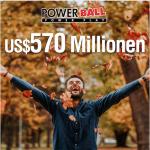 US Powerball – 470$ Millionen Jackpot – Tipps mit 40% Rabatt!