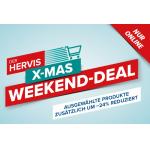 Hervis XMAS Weekend – 24% Rabatt auf ausgewählte Produkte