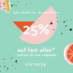 Orsay – 25% Rabatt auf fast ALLES (für Club-Mitglieder)