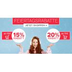 Deichmann – 15% Rabatt auf reguläre Ware ab 50€ / 20% Rabatt ab 70€