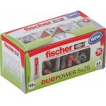 fischer DUOPOWER 5×25 Universaldübel um 1,67 € statt 4,59 €