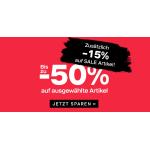 Deichmann – Sale bis zu 50% Rabatt + 15% Extra-Rabatt + gratis Versand