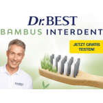 Dr. Best Bambus Interdent Zahnbürste GRATIS testen
