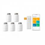 tado° Smartes Heizkörper-Thermostat Starter Kit V3+ mit 5 Thermostaten & Bridge inkl. Versand um 269,95 € statt 396,80 €