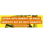 ASOS – bis zu 70% Rabatt auf Freizeibekleidung & 20% Extra-Rabatt