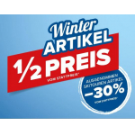 Hervis – 1/2 Preis auf Winterartikel / 30% Rabatt auf Skitoruen-Artikel