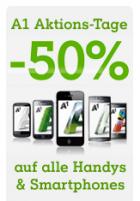 -50% auf alle Handys @ A1.net