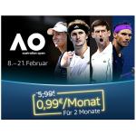 Eurosport Player um 0,99 € statt 5,99 € / Monat für die Australian Open!
